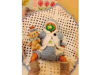 Reborn baby jake new crochet clothes