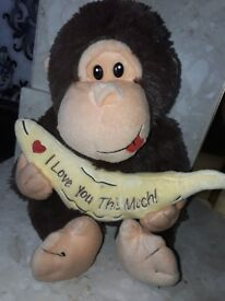 Monkey Teddy bear gift
