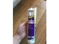 NO NONSENSE decorators caulk - white 310ml tubes
