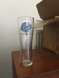 Bluemoon pint glasses