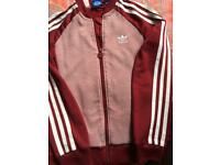 Boys Adidas tracksuit top age 9/10 Years