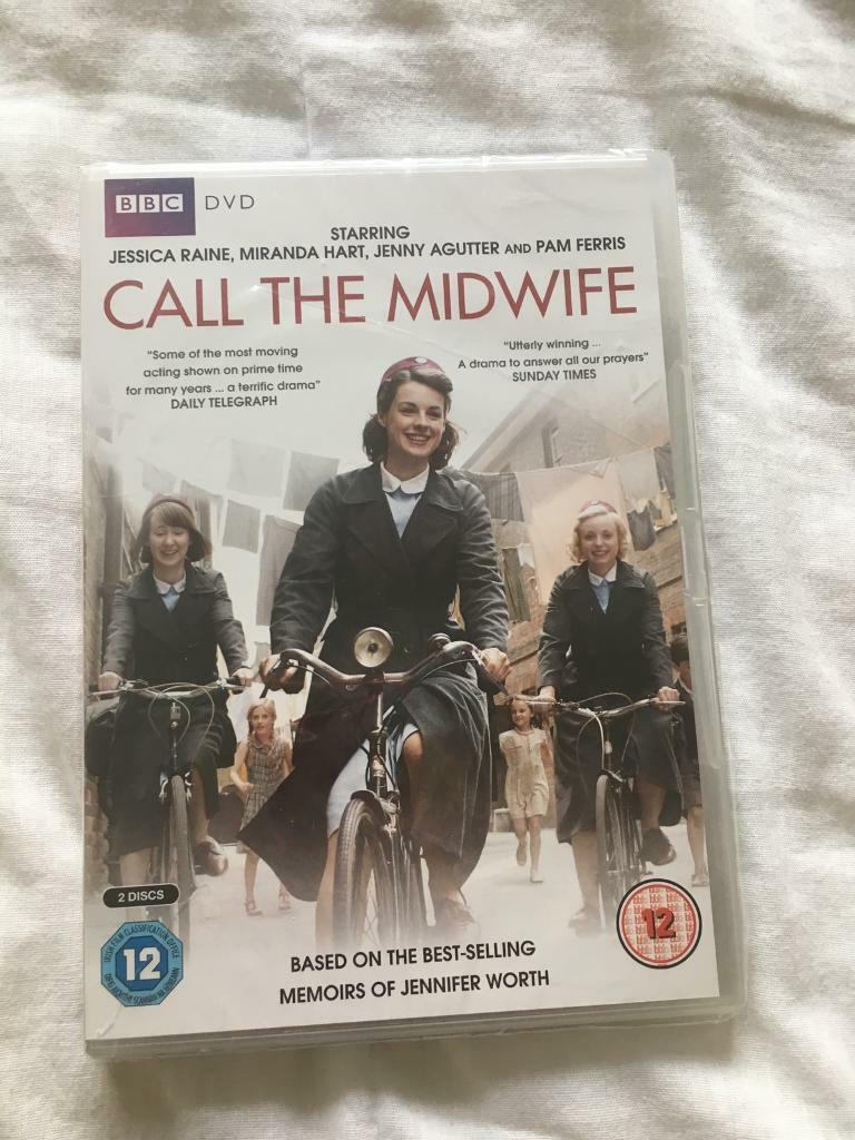 DVD - call the midwife series 1&2