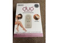 Homedics duo quartz -permanent hair reduction