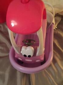 Baby born car and bath