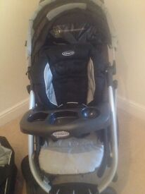 Barely used Graco pushchair
