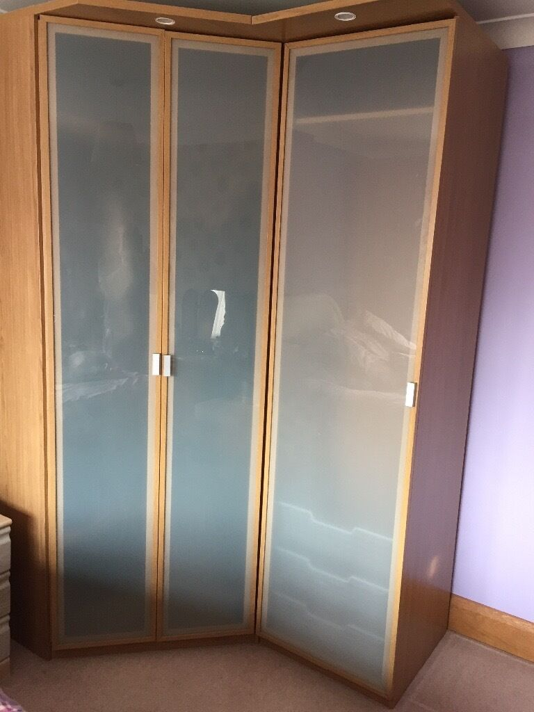 hopen ikea corner wardrobe in west bridgford nottinghamshire gumtree. Black Bedroom Furniture Sets. Home Design Ideas