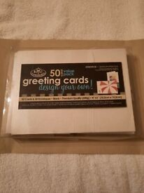 ROYAL & LANGNICKEL PACK OF 50 CARDS AND ENVELOPES