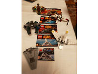 LEGO - 5 small Star Wars ships