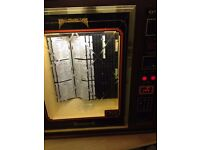 jukebox - base caraousel with seperate head leaded glass effect front