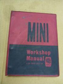 Original BMC Mini Workshop Manual