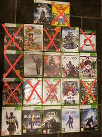 Xbox 360 games for sale, 4 games for £10