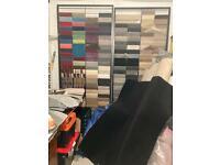 Carpets + Laminate flooring + safety flooring