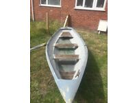 Rowing boat 14ft ideal summer boat & river boat £100 ovno