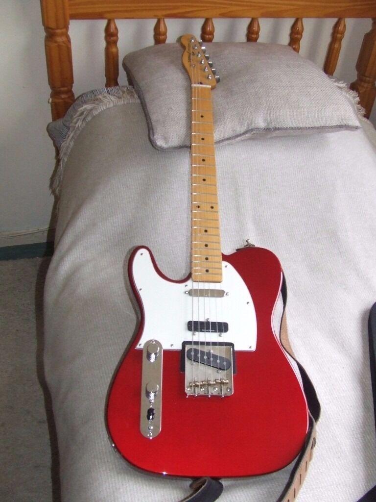 Custom 3 Pickup Fender Telecaster (lefty) with Bare Knuckle ...