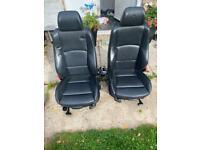 BMW leather seats