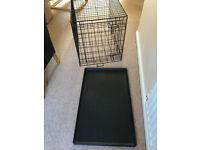 Single Door Dog Training Crate 90cm x 60cm