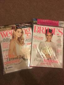 Wedding Magazines Brand New
