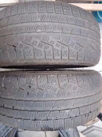 2x 245 50 r18 Pirelli sottozero winter