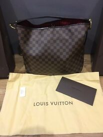 Louis Vuitton Delightful MM Handbag - Superb Condition - original packaging and receipt available