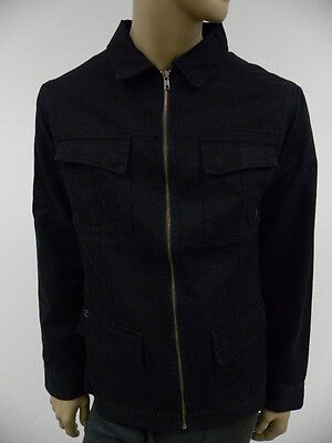 SPLIT  MEN JACKETS HOOD FAIRFAX BLACK LARGE, used for sale  Shipping to India
