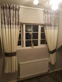 2 x pairs of curtains