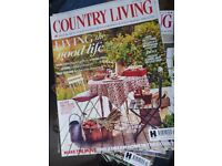 Country Living Magazines...large quantity