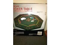 Poker Table and accessories