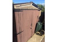 **Free** sectional concrete garage/shed