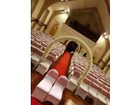 Floral wedding arch hire, wedding flower arch