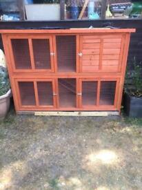 Rabbit hutch food and other things