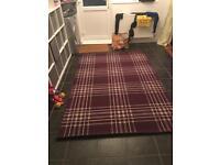 XL plum / purple rug
