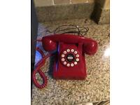 Retro Red House Phone