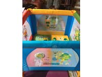 Smyths 2 in 1 playpen, good condition, barely used