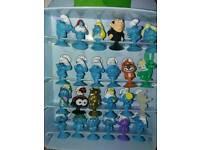 Lidl stikeez Smurf full collectors set