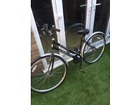 Ladies Black Bike