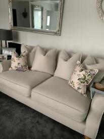 6 months old Debenhams Sofa Workshop 3 seater & 4 seater chaise