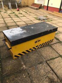 Van vault site box storage box