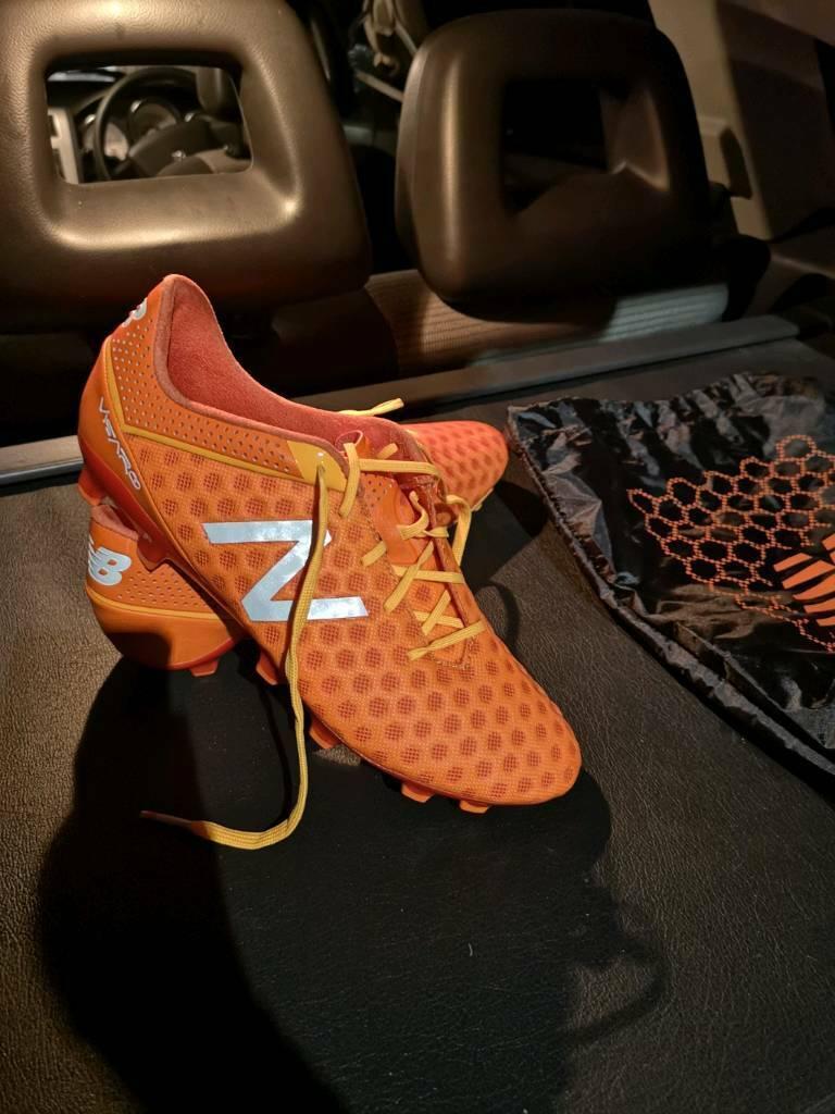 e188947e8f New Balance Visaro Pro FG Football Boots - Orange, UK Size 8 - Brand New