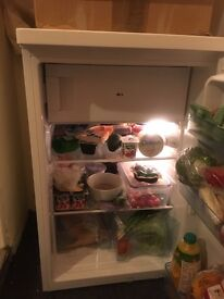 Nearly new Fridge with freeze compartment