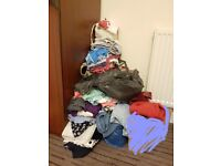 Large bundle of ladies and girls clothes