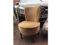 Brown vintage chair