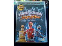 Power Rangers Ninja Storm complete series 6 discs excellent condition.