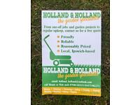 Gardener - Ipswich based