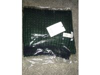 Brand New With Tags Paul Smith thick knit scarf - two tone green perfect Christmas gift