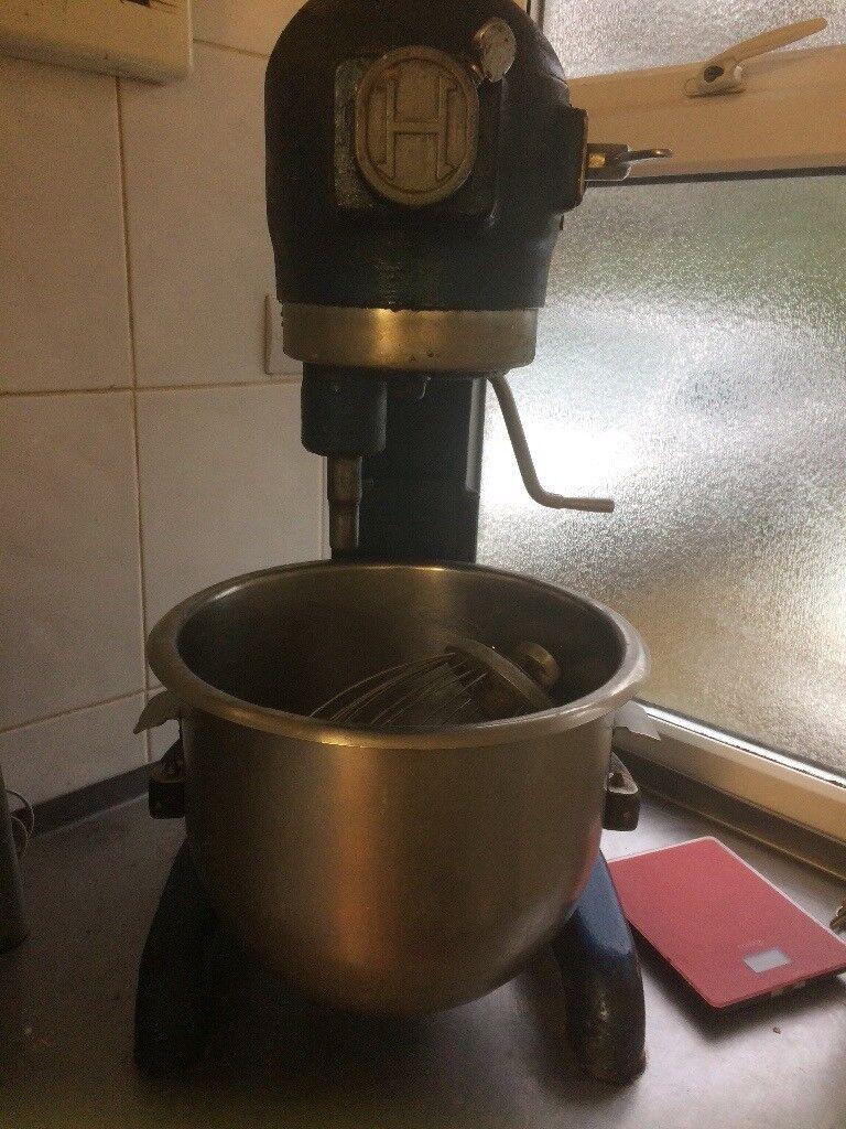 Hobart mixer without guard