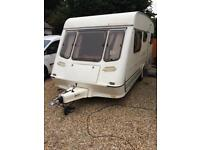 1995 5 berth fleetwood crystal very good condition with Full awning