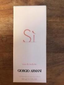 Si perfume Giorgio Armani 50ml