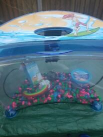 fishtank with pump and extras