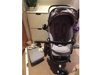 Quinny BUZZ extra 3 pushchair stroller with extras in grey gravel RRP £450