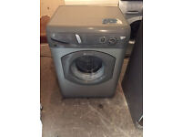 Silver Hotpoint Aquarius WF321 Washing Machine Fully Working with 4 Month Warranty